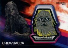 2018 Topps Star Wars Solo Movie Manufactured Patch Relics #MP-CC Chewbacca