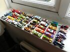 Hot Wheels job lot x40 toy cars, mainly fantasy designs, also Batmobile etc