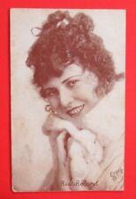 Ruth Roland Actress Movie Star Evans LA Arcade Postcard Back