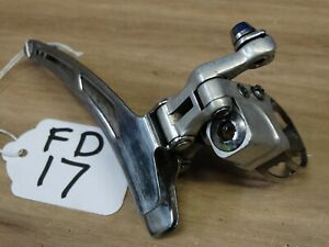 VINTAGE SUNTOUR CYCLONE MARK II  FRONT DERAILLEUR BAND ON 28.6mm COMPLETE  FD17#