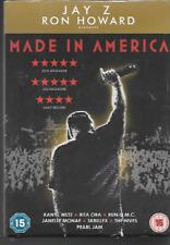 JAY Z  MADE IN AMERICA GENUINE R2 DVD RUN DMC PEARL JAM DOCUMENTARY NEW/SEALED