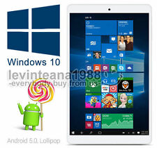 "8""Inch IPS Onda Dual OS Android 5.1 Windows 10 TABLET PC 32GB Intel Z8300 HDMI"