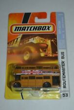 2008 MATCHBOX CITY ACTION ROUTEMASTER BUS GOLD # 53