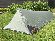 GoLite Hut 1 Tarp Tent Shelter 1.1Lbs UL Ultralight Backpack Bike Touring 1-Man