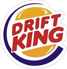 Drift King b roi Logo Autocollant Decal étiquette en vinyle graphique