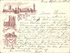 Lambeth Posted Pre - 1914 Collectable London Postcards