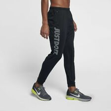 Men's Nike Essential Logo Training Running Tight Leggings - Size Large L Black