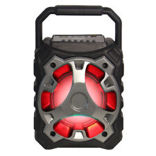 Fully Powered 500 Watts Bluetooth Portable Multimedia Speaker - Blade10 Silver