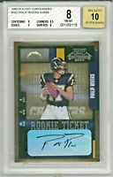 PHILIP RIVERS 2004 Playoff Contenders Rookie Card RC Auto Autograph SP BGS 8