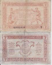 Francia / France - 1 franc Tresorerie Aux Armees 1919