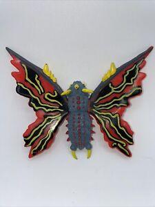 "1995 Trendmasters TOHO: Godzilla Wars - BATTRA 4"" Action Figure Toy - RARE VTG"