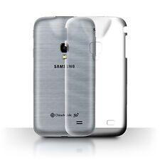 STUFF4 Ultra Slim Clear Hard Phone Case for Samsung Galaxy Beam 2/G3858