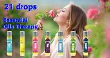21 Drops Essential Oil Therapy Organic Essential Oils Wellness Set, New no Box