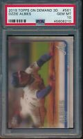 2019 Topps On Demand 3D #561 Ozzie Albies PSA 10 Gem Mint SP /540