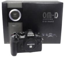 Olympus OM-D e-m1 Mark II 20.0mp sistema telecamera-Nero #bhua 22270