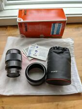 Sony SAL-135F18Z 135mm f/1.8 Carl Zeiss Sonnar T Telephoto Lens for Alpha MINT