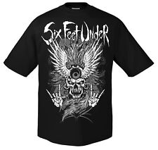 SIX FEET UNDER - Biker T-Shirt M  NEU
