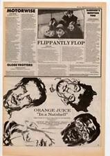 Orange Juice In A Nutshell Advert NME Cutting 1985