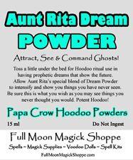 Aunt Rita Dream Hoodoo Voodoo Powder Psychic Vision ESP Future Prophecy Ritual