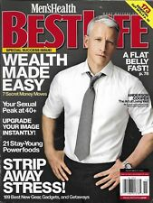 Best Life Magazine Anderson Cooper Tom Hardy Dave Annable Power Foods Sex Peak