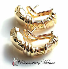 Cartier Yellow Gold Precious Metal Earrings without Stones