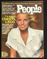PEOPLE Magazine - Sep 18 1978 - CHERYL LADD / Charlie's Angels / Stephen Bishop