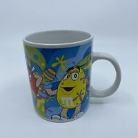 M&M'S CANDY GALERIE EASTER EGG RABBIT COFFEE MUG