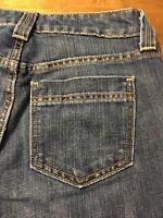 Gap Curvy Low Rise Boot Cut Jeans Women's Stretch Junior Size 1 X 32
