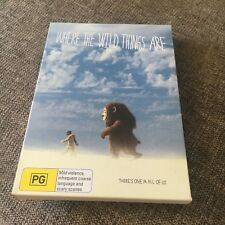 WHERE THE WILD THINGS ARE DVD. IN OWN CASE