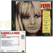 GABRIELLA FERRI e LUISA RARO CD 1993 FUORI CATALOGO