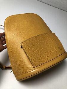 LOUIS VUITTON Cobran Epi Backpack Rucksack