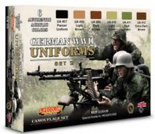 Colori Acrilici Lifecolor CS05 Uniformi Tedesche Set 2 6 tinte