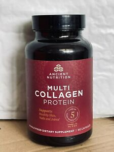 Dr. Axe Multi Collagen Protein Supports Skin Nails Joint -90 Capsules Exp 5/2022