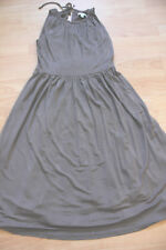 BODEN Taupe Tie Back Midi Dress   size 12R