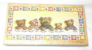 Stamps Happen Baby Bears rubber stamp One Paw Two Paws 80256 Heidi Saherberg