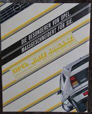 Prospekt Opel Corsa Kadett Manta Ascona Rekord Wirtz Koblenz 80er