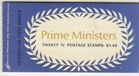 2/. B139A-e $1.40 Prime Ministers Booklet muh
