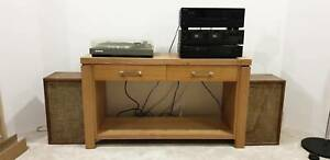 Stereo System, Turn Table, Amplifier/Tuner, Tape Deck, CD Player
