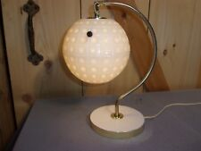 "Vintage Unusual Atomic Space Age Mid Century Desk Lamp Works13 3/4"" Tall"
