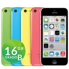 APPLE IPHONE 5C 16GB GRADO B + COLORI ACCESSORI GARANZIA SPEDIZIONE GRATUITA
