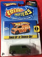 Hot Wheels Color Shifters ~ Tuned Up To Tricked Out ~ CUSTOM DODGE VAN ~ NEW