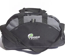 PICKLEBALL MARKETPLACE Small Contrast Duffle Bag-New - Blk/Grey - Carry Paddles
