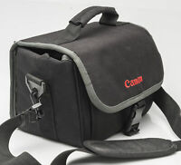 Canon Kameratasche Fototasche Schultertasche camera bag schwarz black universal