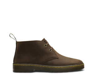 Dr Martens Cabrillo Gaucho Crazy Horse Brown Leather 2 -Eyelet Desert Boots