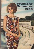 Katalog Frühjahr-Sommer 1966 Konsument Versandhaus Karl-Marx-Stadt DDR
