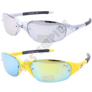 197 Men Small Outdoor Driving Cycling Golf Running UV Sport Sunglasses