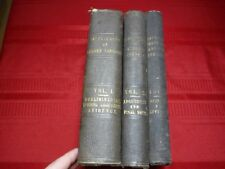 Trial of Andrew Johnson- Published by Order of the Senate, 1868, 3 volumes