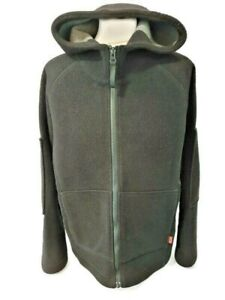 "SLAM Men's Black Fleece Lined Padded Winter Jacket UK Medium Pit 21"" | RRP £85"