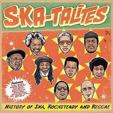 THE SKATALITES - HISTORY OF SKA,ROCKSTEDAY & REGGAE  CD NEU