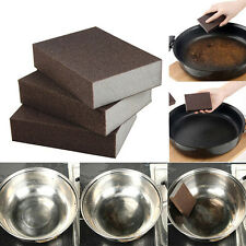 1x Magic Emery Sponge Eraser Brush Home Kitchen Pot Pan Dish Bowl Cleaning Tools